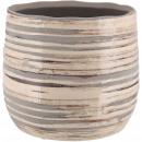 wholesale Plants & Pots: Ceramic bucket Saigon, D18cm, H17cm, for TO16, sea